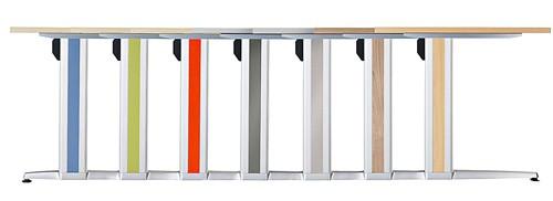 Seitenblenden für Schreibtische der Serie XS