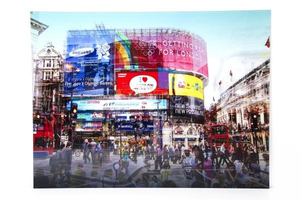 Bild Glas Piccadilly Circus - Kare Design