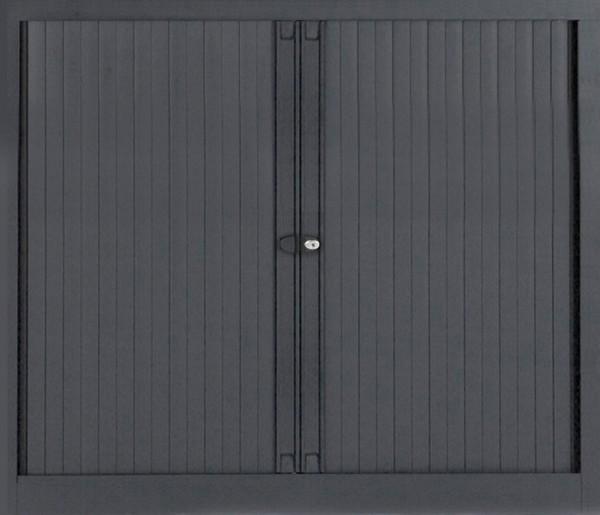 Euro Rollladenschrank, 2 1/2 Ordnerhöhen, 1200 mm