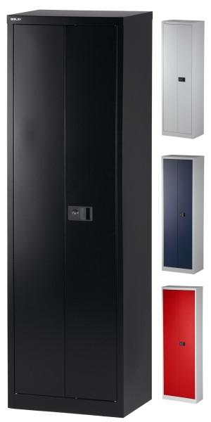 Flügeltürenschrank Universal, 600 mm breit, 5 Ordnerhöhen, verschiedene Farben