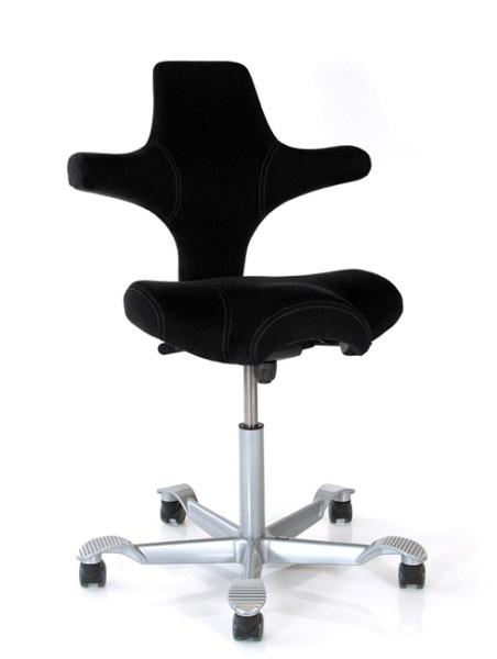 Drehstuhl Capisco 8106 - Comfort 0050 schwarz - HAG