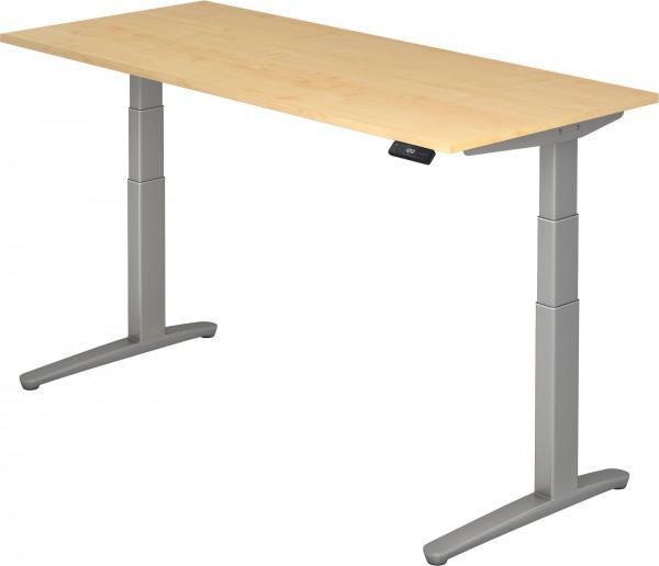 Schreibtisch XBHM19, 180 cm, elektrisch höhenverstellbar, C Fuß-Gestell