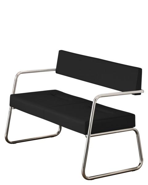 2-Sitzer Brondby - schwarz
