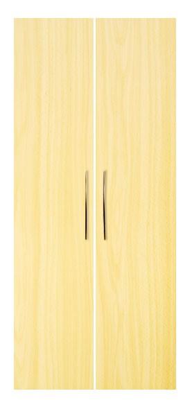 Schrankwand-System Basic: Front (Flügeltüren) für Regal 5 OH