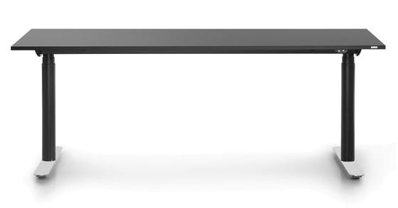 Elektrisch höhenverstellbarer Schreibtisch M3-Desk 180 cm - Bosse Modul Space - schwarz