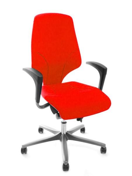 Drehstuhl Giroflex 64-7578 - rot