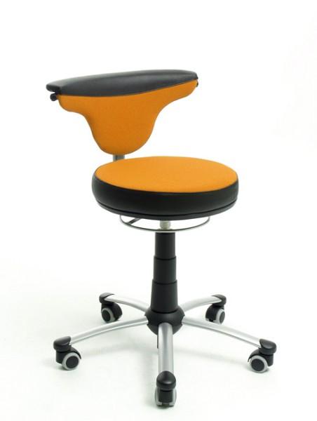 Jugenddrehstuhl TORRO-SIT von Mayer in orange/schwarz