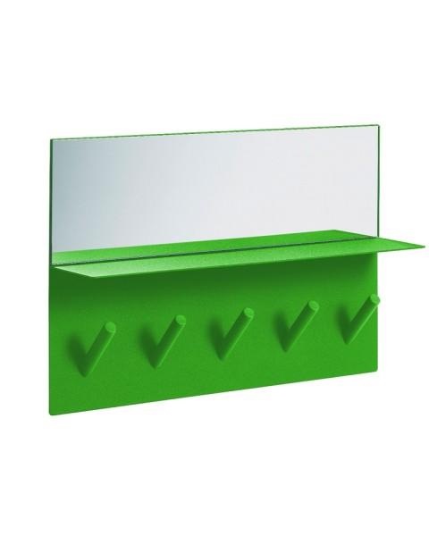 Sticks Spiegelgarderobe - grün - SMD