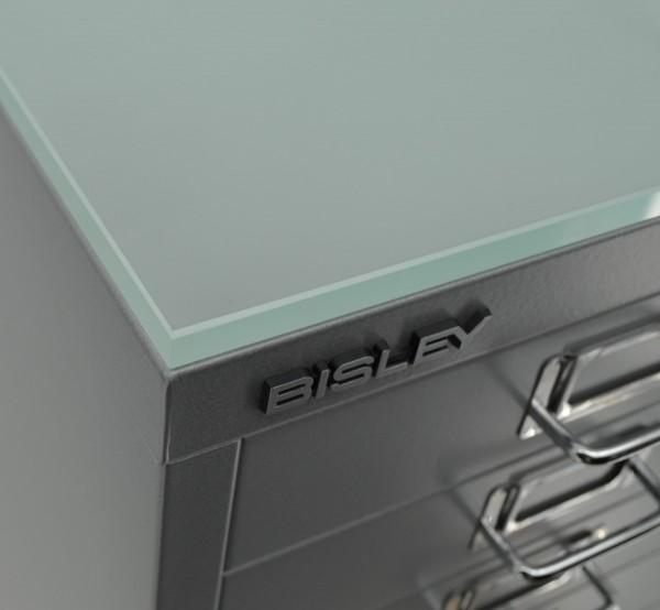 Glasplatte für Hängeregistraturschränke, doppelbahnig