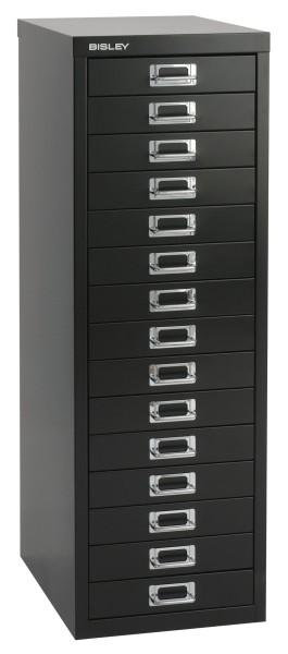 Schubladenschrank Multidrawers 39er Serie, 15 Schubladen, DIN A4