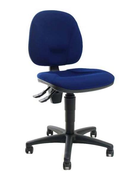 Bürostuhl Point 10 - blau - Topstar