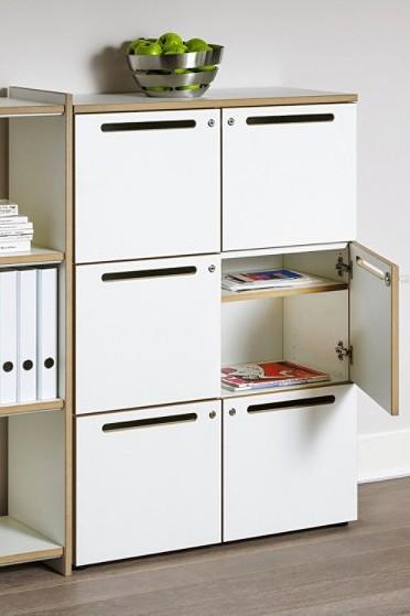 Postschrank / Wertfachschrank Archivar, schwarz, Reinhard