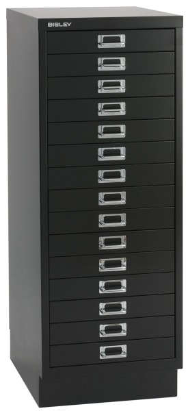 Schubladenschrank Multidrawers 39er Serie, 15 Schubladen DIN A3
