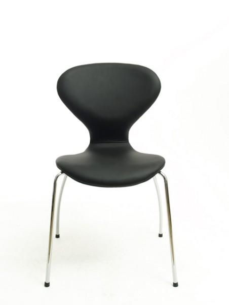 Besprechungsstuhl Lady in schwarz