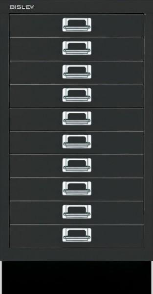 Schubladenschrank Multidrawers 39er Serie, 10 Schubladen DIN A3 mit Sockel