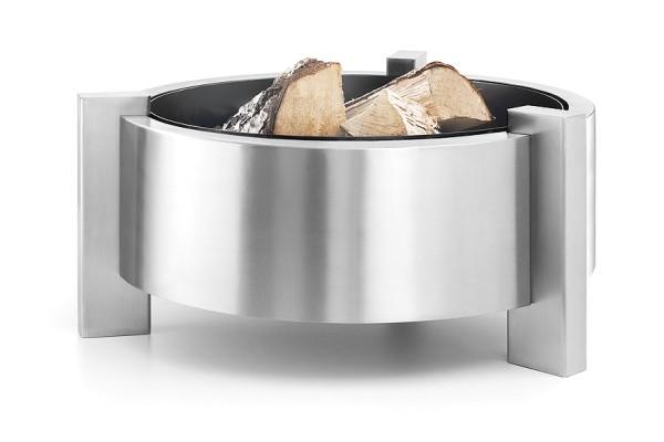 CALURA 50045 Design-Feuerstelle aus Edelstahl von Zack