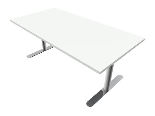 Elektrisch höhenverstellbarer Schreibtisch M3-Desk 160 cm - Bosse Modul Space - weiß