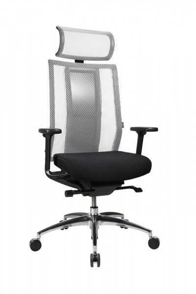 Bürodrehstuhl IMedic 20 - schwarz/weiß - Wagner