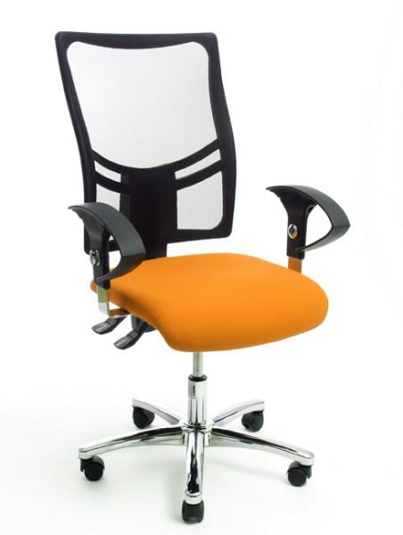 Drehstuhl Topstar Net Point 10 in orange Sonderangebot