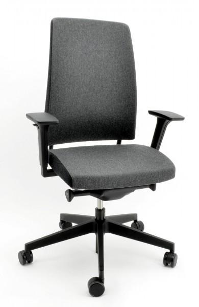 Drehstuhl Motto 10SFL - grau/schwarz - PROFIm