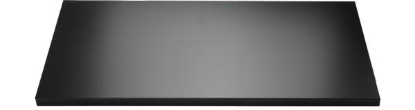 Fachboden für Euro Rollladenschrank, schwarz, 1000 mm