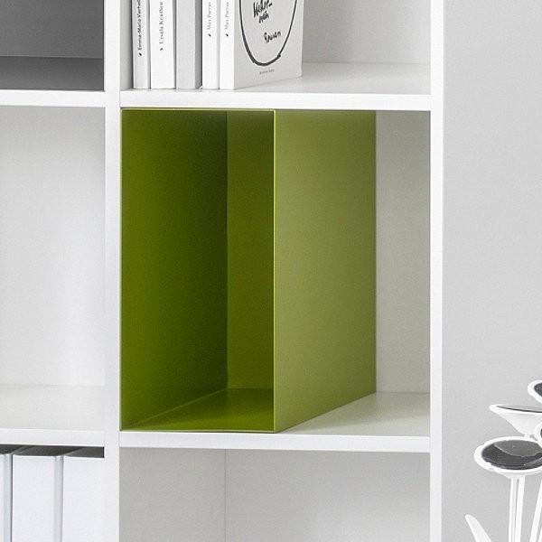Regalbox/Metalbox Andorra, grün, 2er Set, Reinhard
