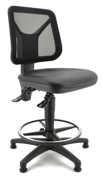 Arbeitsdrehstuhl TEC 80 von Topstar - mit Fußring