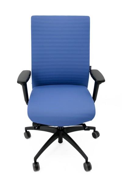 Bürodrehstuhl ErgoMedic® 100-3 - blau - Wagner