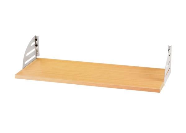 Callcenter Aktenstütze 74 cm mit Metallaufhängung silber