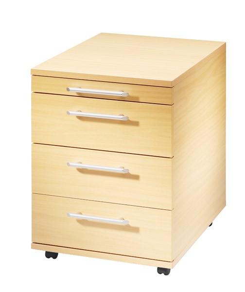 Rollcontainer: Rollcontainer Basic mit drei Schubladen