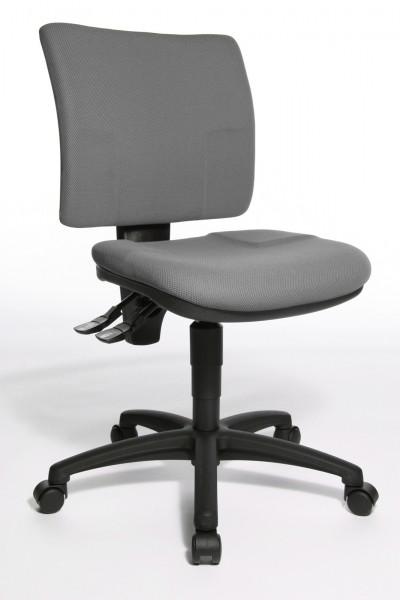 Bürostuhl U 50 mit Hartbodenrollen - dunkelgrau - Topstar