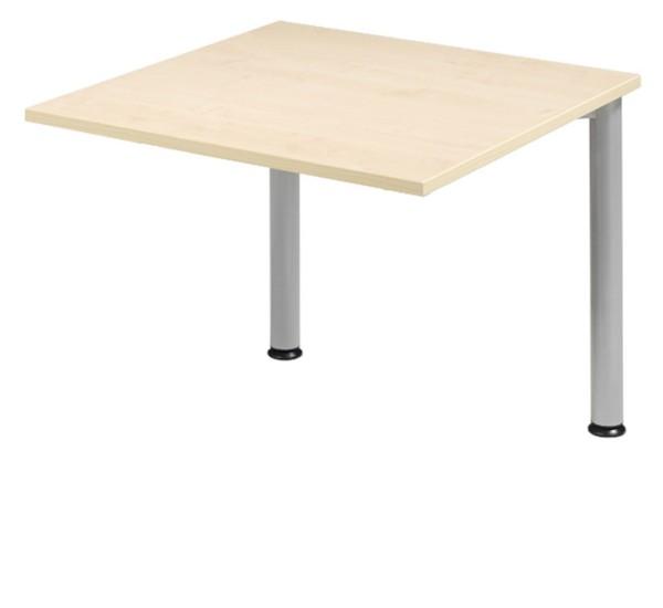 Schreibtisch-Zwischenelement gerade 80 cm, 2 Füße, stufenlos höhenverstellbar