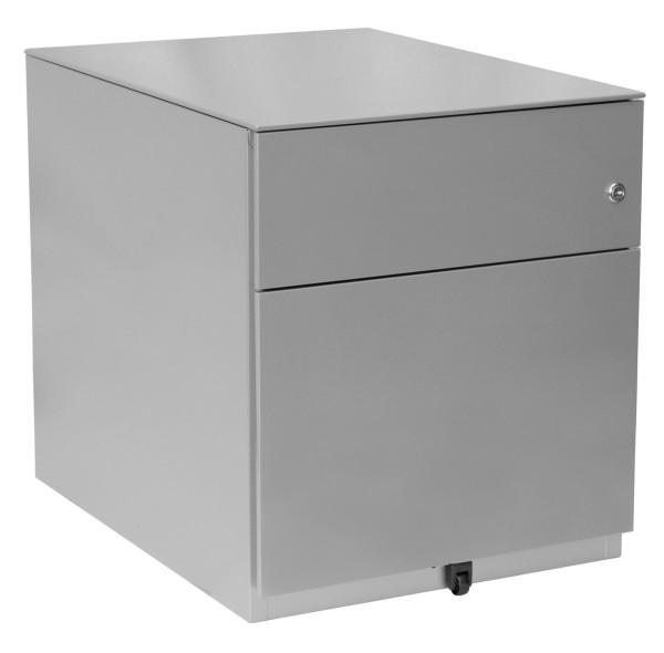 Rollcontainer Note, 1 HR-Schublade, 1 Universalschublade, mit Top