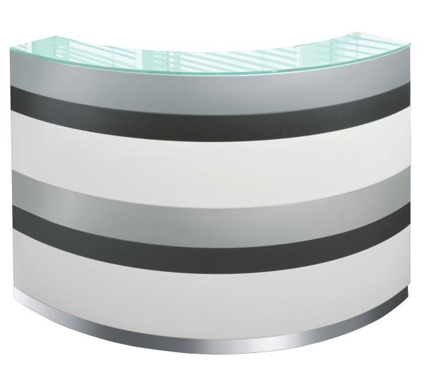 Haupt- / Anbautheke Bengentile - gebogen - gestreift - Ultom