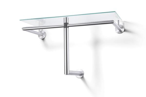 ABILIO 50678 Design-Garderobenablage aus Glas von Zack