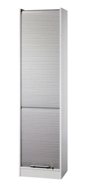 Büroschrank: Rollladenschrank mit fünf Fächern 5 OH