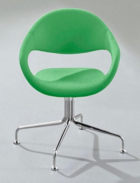 4-Fuss Sessel Samba - grün