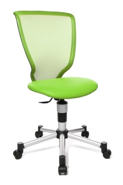 Kinderdrehstuhl Titan Junior - grün - Topstar, lieferbar ab KW 20