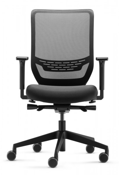 Jetz wieder lieferbar! - Bürodrehstuhl to-sync mesh SC 9242 - schwarz - Dauphin