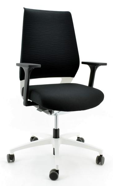 Drehstuhl XCode XC 53115 - Dauphin, schwarz/weiß