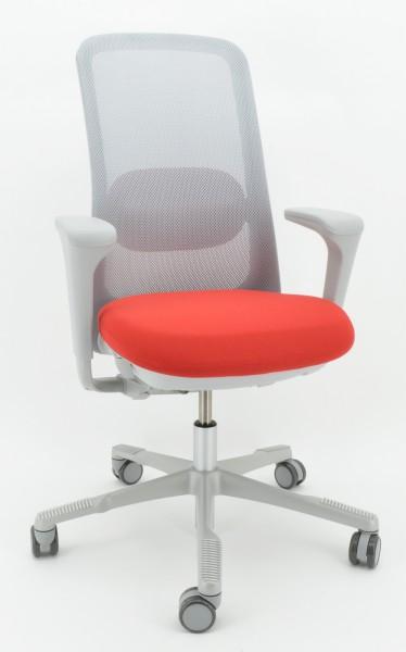 Drehstuhl SoFi 7500 - Mesh - Nexus 016, rot - HAG