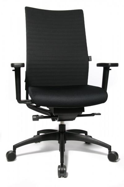 Bürodrehstuhl ErgoMedic® 100-3 - schwarz - Wagner