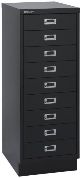 Schubladenschrank Multidrawers 39er Serie, 9 Schubladen DIN A3 mit Sockel