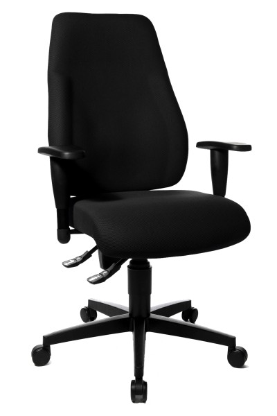 Drehstuhl Lady Sitness - schwarz - Topstar, lieferbar ab KW 18