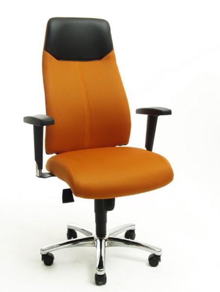 Drehstuhl High Sit up orange Topstar